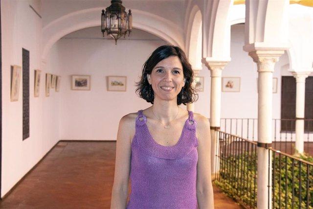La productora Marta Alamillo en los cursos de verano de la Universidad Pablo de Olavide (UPO)
