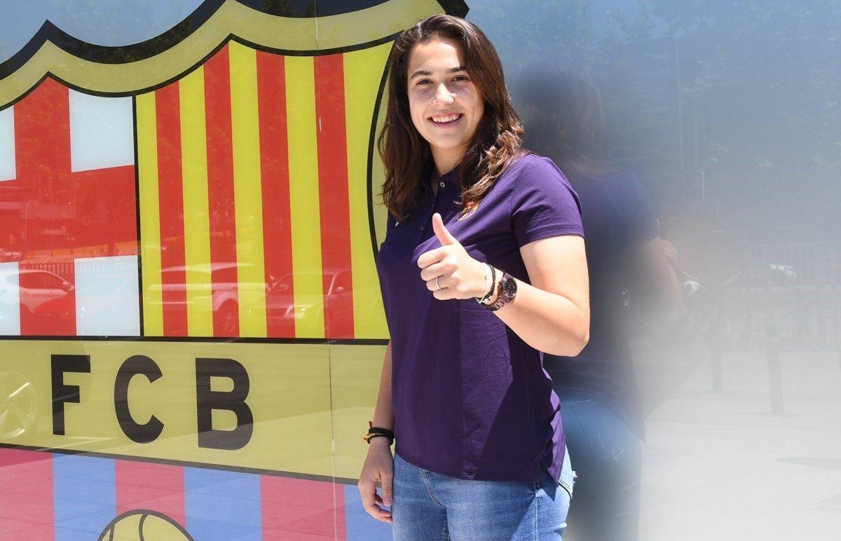 El Barça Femenino incorpora a Cata Coll, portera internacional Sub-19