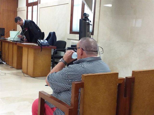 El empresario Santos Márquez, que medió en el fichaje de Iker Casillas por el Oporto, en el juicio por administración desleal en la Audiencia Provincial.