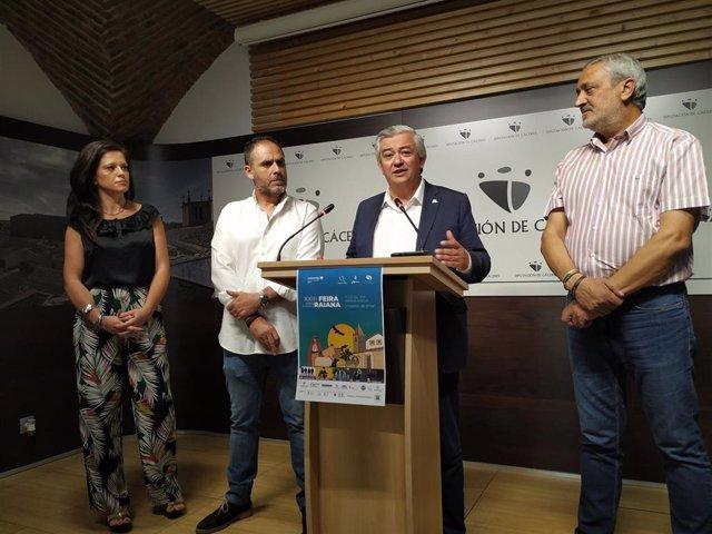 Presentación de la XXIII Feria Rayana
