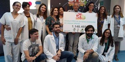 CRIS Contra el Cáncer dona un millón de euros a La Paz para continuar investigando en cáncer infantil