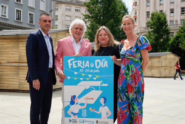 Presentación de la XII edición de la Feria de Día de Santander