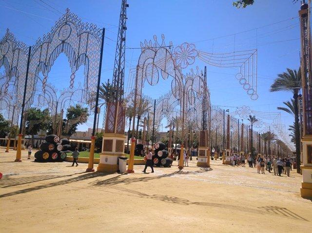 Recinto ferial de la Feria de Jerez