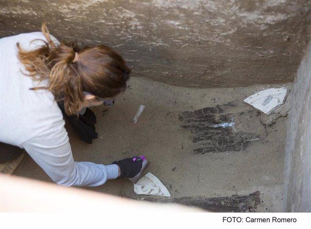 Excavaciones en el cementeria de San José