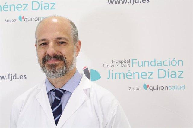 El doctor Raúl Córdoba, del Servicio de Hematología de la Fundación Jiménez Díaz