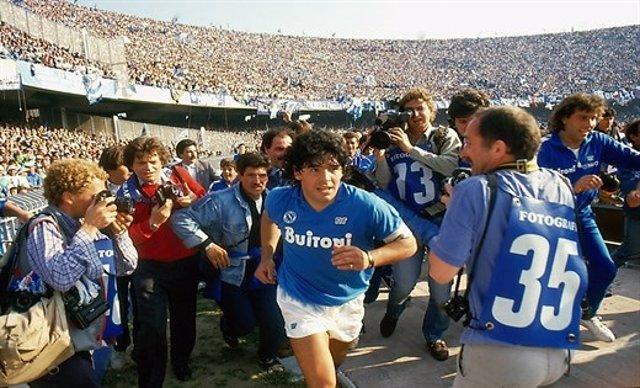 Escena del documental 'Maradona', de Asif Kapadia