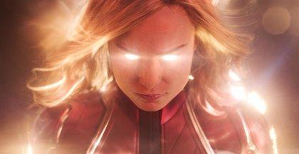 "Brie Larson (Capitana Marvel) presume de ""fuerza Jedi"""