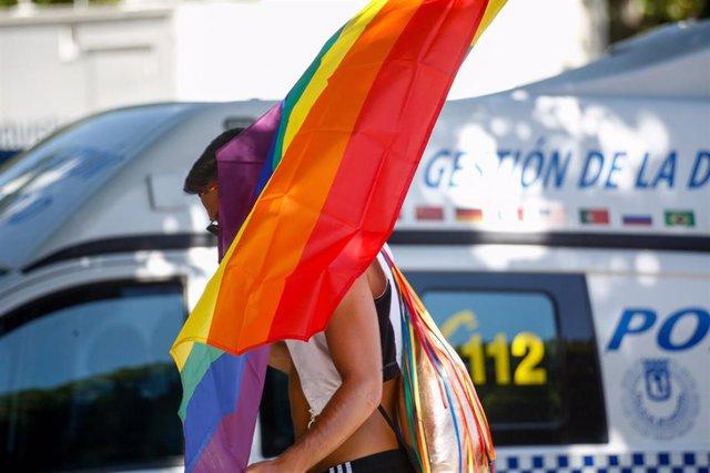 Manifestación estatal del Orgullo LGTBI en Madrid, desde Atocha hasta Colón