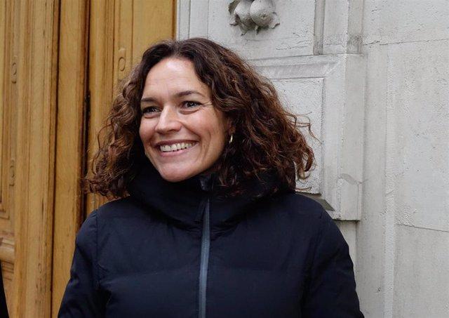 Lina Gálvez en una imagen de archivo