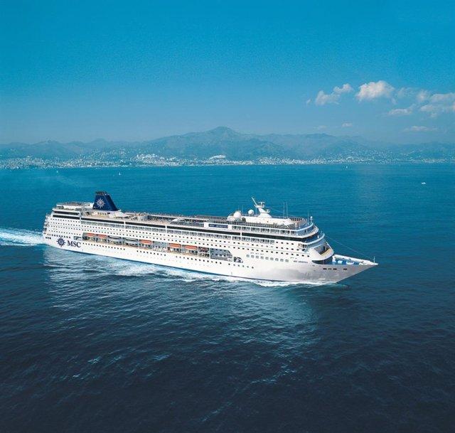 El crucero MSC Armonia.