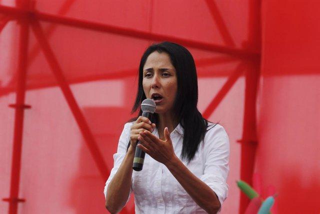 La ex primera dama de Perú Nadine Heredia.