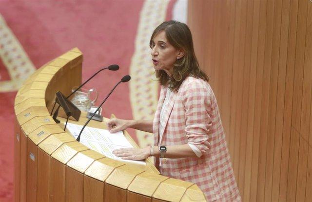 La conselleira de Educación, Carmen Pomar