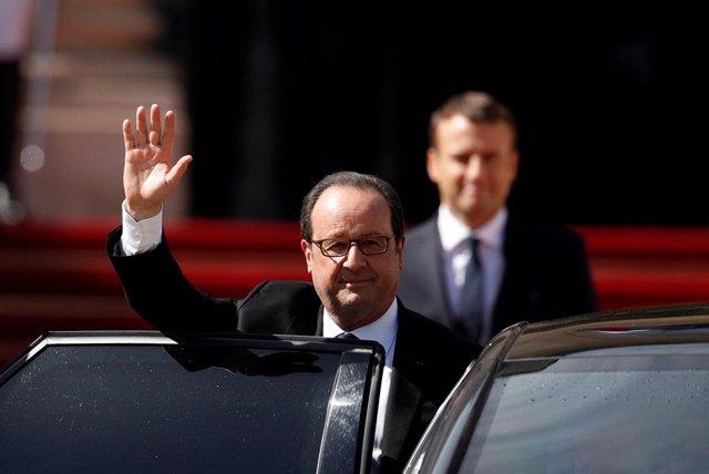 El ex presidente francés François Hollande