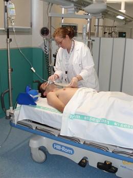 Enfermera, Camilla