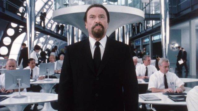 El actor Rip Torn en Men in Black