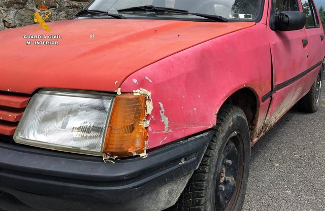 Estado del vehículo tras el atropello