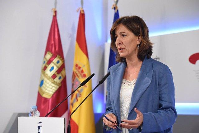 La portavoz del Gobierno regiona, Blanca Fernández