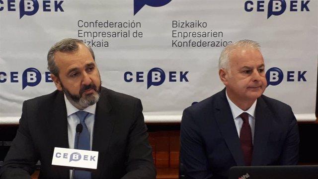 Iñaki Garcinuño y Francisco Javier Azpiazu (Cebek)