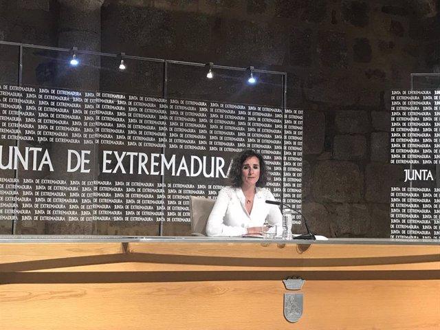La consejera para la Transición Ecológica y Sostenibilidad, Olga García