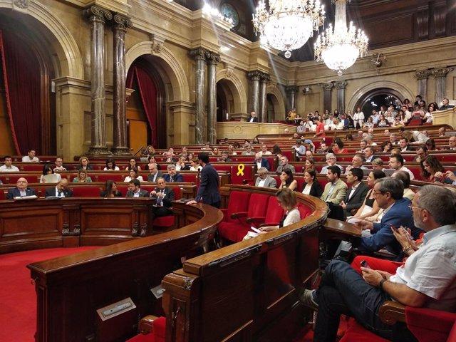 Ple del Parlament (Arxiu)