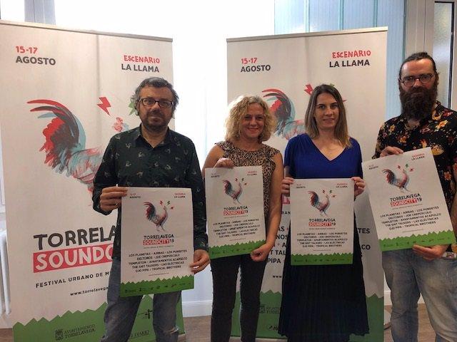 Presentación del cartel Torrelavega Sound City