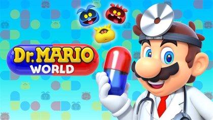 Los puzzles de Dr. Mario World regresan 29 años después en los móviles