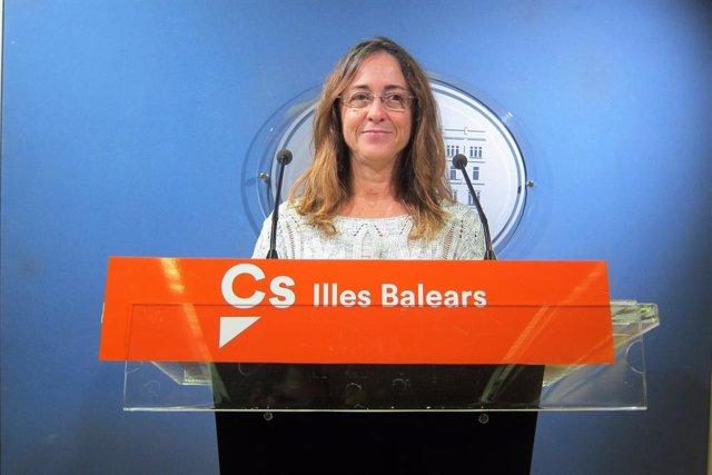 L'exdiputada de Cs al Parlament balear i ex secretària d'Acció Institucional del partit a Balears, Olga Ballester