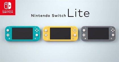 Nintendo presenta Switch Lite, una variante de su consola enfocada al juego portátil que llegará el 20 de septiembre