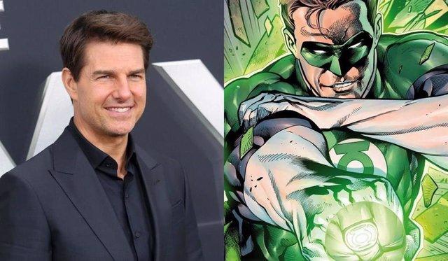 ¿Será Tom Cruise El Nuevo Linterna Verde?