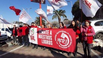 Comienza la huelga de los trabajadores de Walmart en Chile
