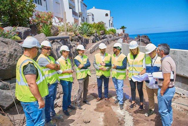 [Grupocanarias] Nota De Prensa Y Fotografías: Santiago Del Teide Obras