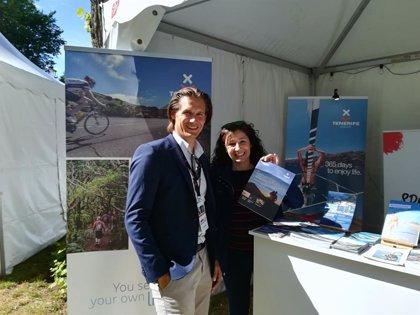 Tenerife se promociona en Suecia como destino turístico de actividades deportivas
