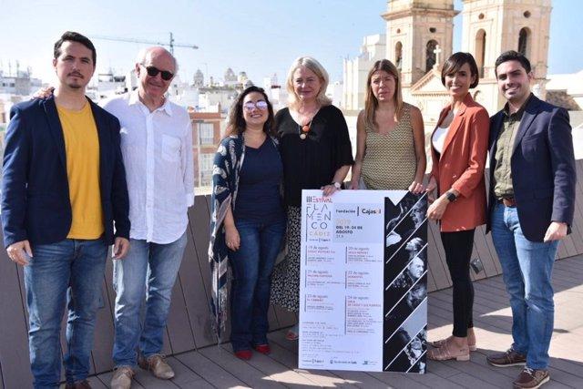 Presentación del III Estival Flamenco Cádiz