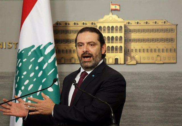 Saad Hariri, primer ministro libanés