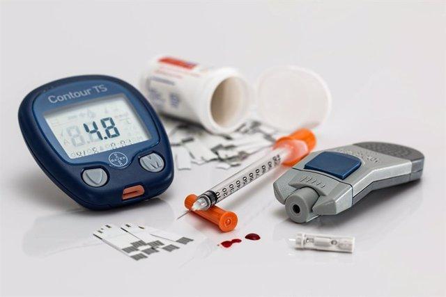 Medidor glucosa en sangre