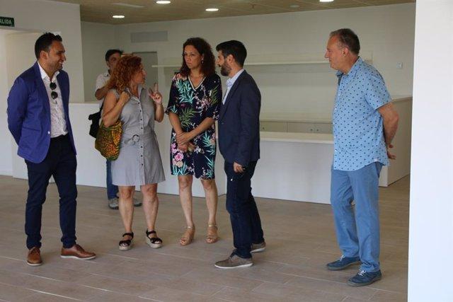 Catalina Cladera visita la residencia de la Bonanova
