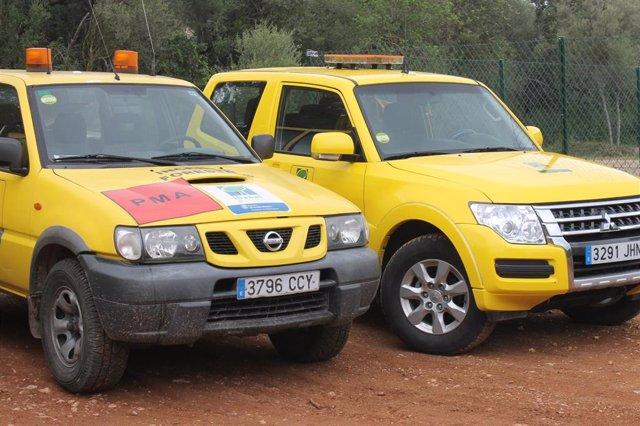 Vehículos del Ibanat.