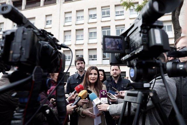 La diputada de Cs Lorena Roldán (ARXIU)