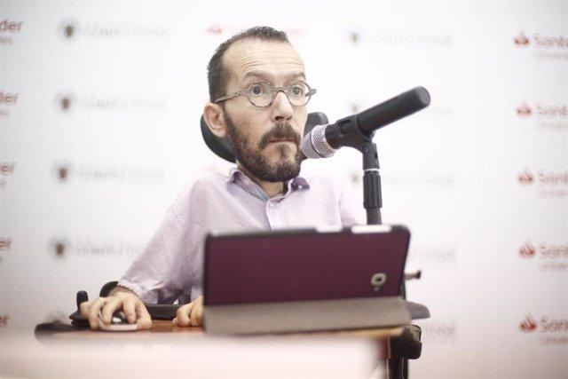 Inauguración del curso 'Bases para un nuevo republicanismo' en Madrid