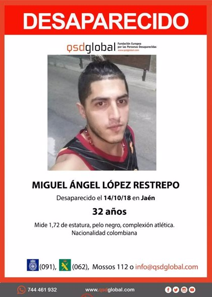 Tres detenidos por la desaparición de un joven colombiano en Jaén hace nueve meses cuyo cadáver ya ha sido localizado