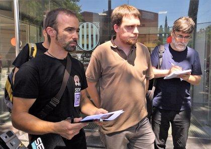 Los montadores en Fira de Barcelona mantienen la huelga que puede afectar al Sónar