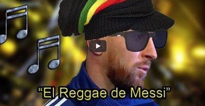 """Messi """"canta"""" reggae criticando a la Conmebol y su canción se viraliza"""