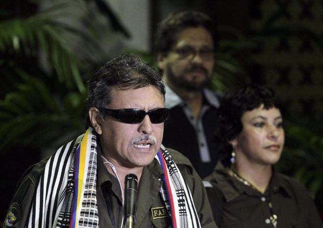 El ex guerrillero de las FARC 'Jesús Santrich'.