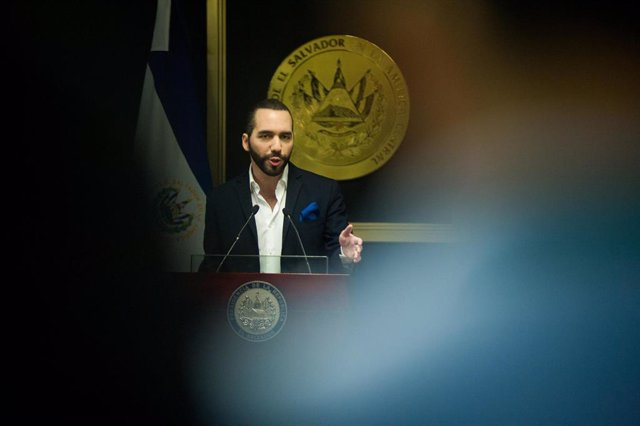 03 July 2019, El Salvador, San Salvador: El Salvador President Nayib Bukele speaks during a press conference to announce new additions to his security policy. Photo: Camilo Freedman/ZUMA Wire/dpa