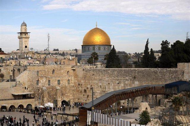 Vista general de la ciudad vieja de Jerusalén