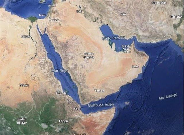 Imagen de arvhico del golfo Pérsico