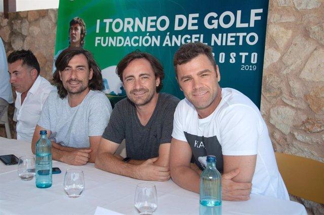 Inauguración del I Torneo de golf de la Fundación Ángel Nieto