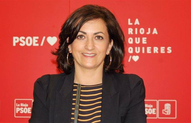 La portavoz socialista, Concha Andreu