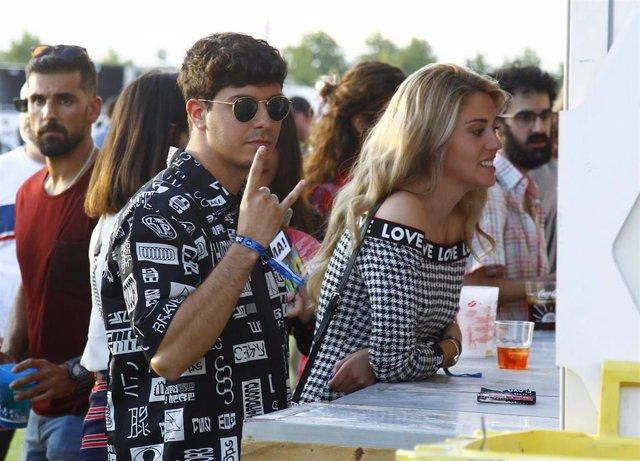 Alfred García y Amaia Izar en el festival Mad Cool