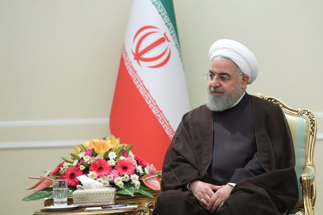 Iranian President meets French presidential envoy in Tehran
